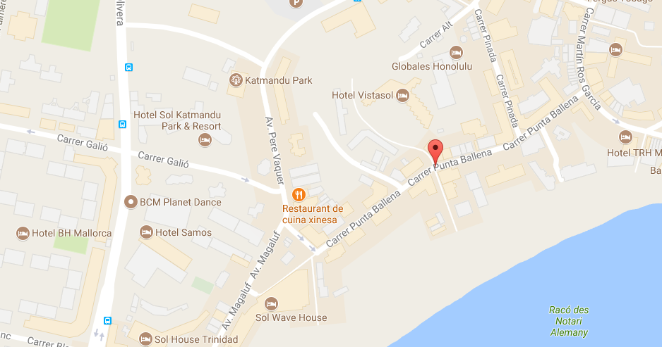 Map Of Magaluf Magaluf Strip. All you need to know in your holidays to Magaluf.